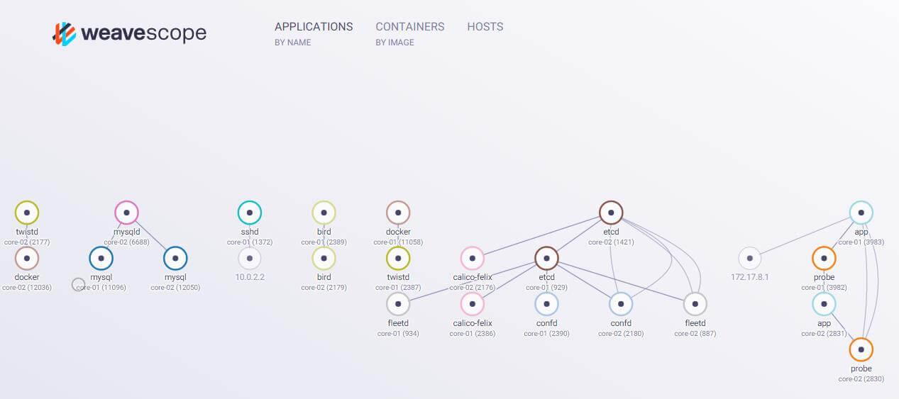 Basic Calico network