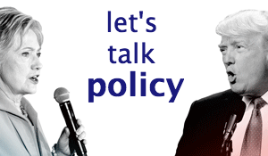 Let's Talk Policy (for a Change)