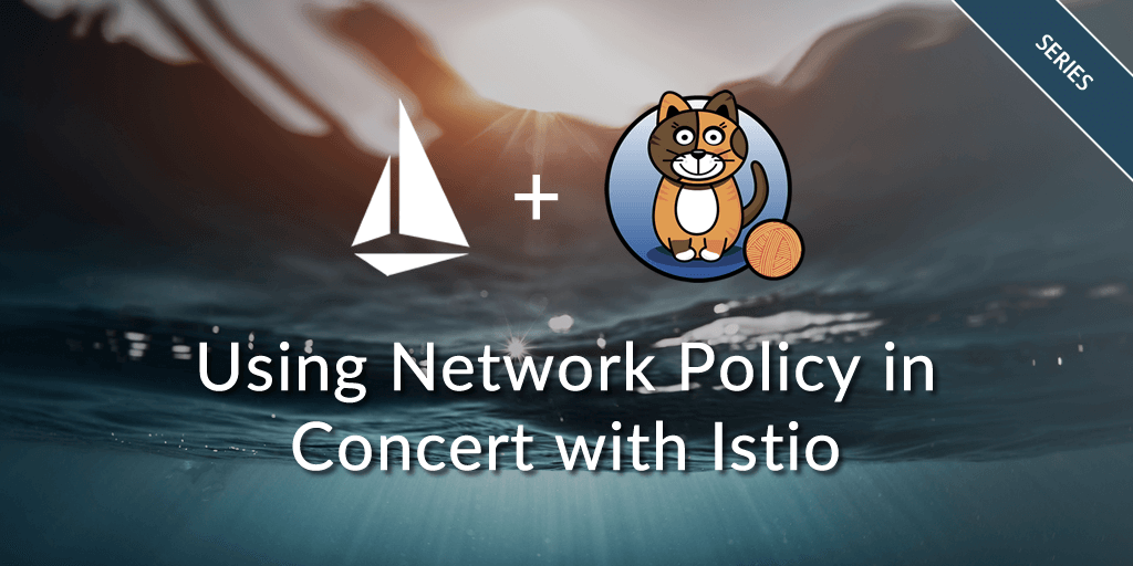 Using Network Policy in concert with Istio | Project Calico